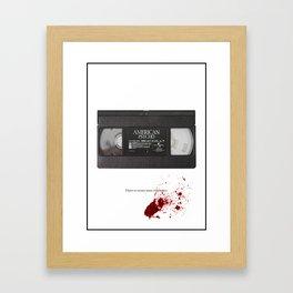 American Psycho Art Print Framed Art Print