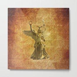 Statue from Berlin Victory Column Metal Print
