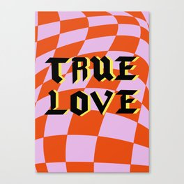 True Love Canvas Print