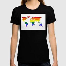 LGBT World (Gay Pride Flag) T-shirt