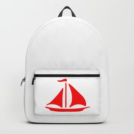 Red Ship Backpack