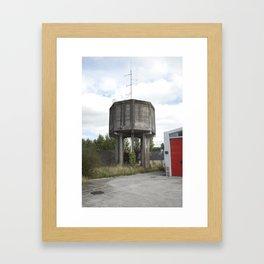 Callan #02 - Water Towers of Ireland Framed Art Print