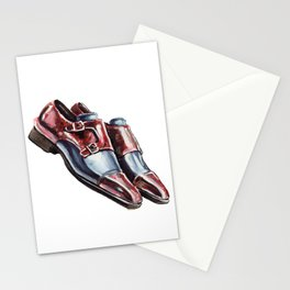 Collin Patina, Andres Sendra Double Monk Strap Shoes Stationery Cards