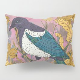Magpie and Maple Pillow Sham