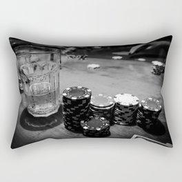Poker Time Rectangular Pillow