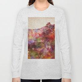 Muscat map Long Sleeve T-shirt