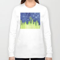 seattle Long Sleeve T-shirts featuring Seattle  by Olechka