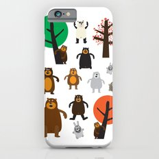 Bears, grizzly and other iPhone 6s Slim Case