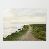 Canvas Prints featuring California Coast Trail by Kevin Russ