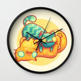 Hug ! Wall Clock
