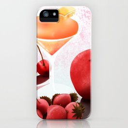 Fruits Cocktail iPhone Case