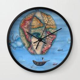 Pirate Balloon 2 Wall Clock