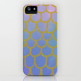 Golden Scales and Fishy Tails iPhone Case