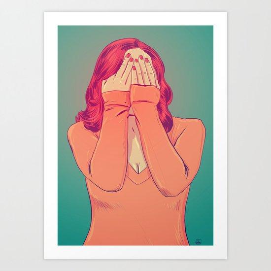 Shame Art Print