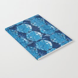 Cyanotype Diamonds Notebook