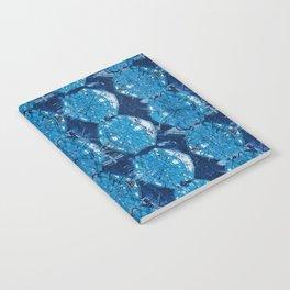 Cyanotype Diamonds Notebook