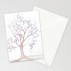 elven tree Stationery Cards