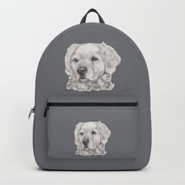 Golden retreiver Backpack