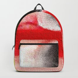 Abstract art. A painting for Tomie Ohtake Backpack