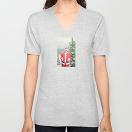 Merry Christmas, Colonel Sanders Unisex V-Neck