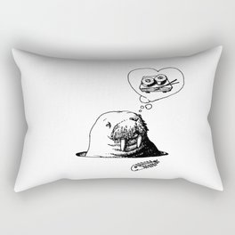 Oishii Walrus Rectangular Pillow