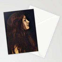 12,000pixel-500dpi - Franz von Stuck - Cinderella1 - Digital Remastered Edition Stationery Cards