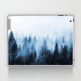 Misty Winter Forest Laptop & iPad Skin