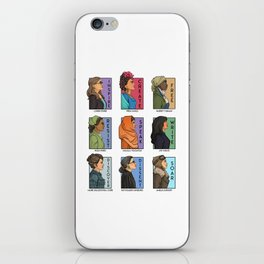 She Series - Real Women Collage Version 1 iPhone Skin