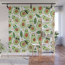 Stylish Avocados Wall Mural