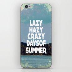 Lazy Days  iPhone & iPod Skin