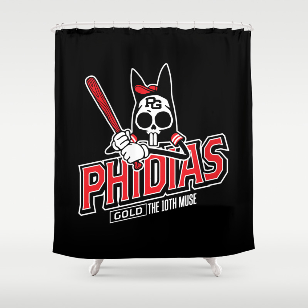 The Tenth Inning Shower Curtain by Phidiasgold CTN953947