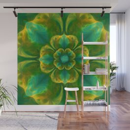The Flower of Positivity  Wall Mural