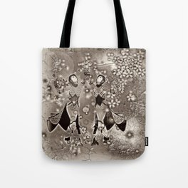 Tanz der Geishas Tote Bag