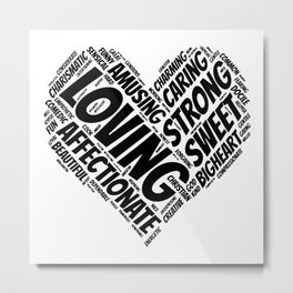 Heart of a Mother Metal Print
