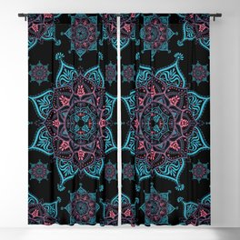 Mandala Bliss Spiritual Zen Bohemian Hippie Yoga Mantra Meditation Blackout Curtain