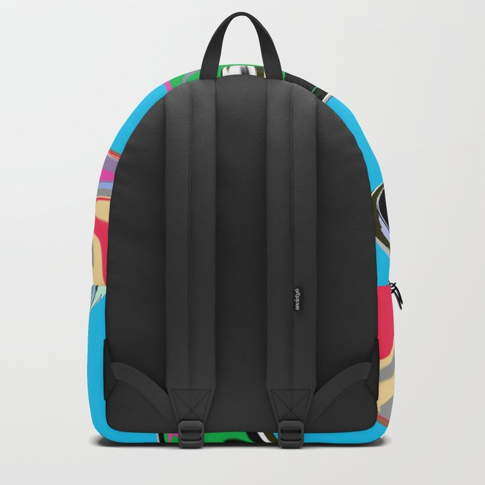 Splash Painting Backpack
