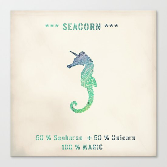 SEACORN Canvas Print