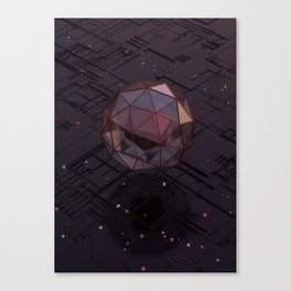 Encased in Glass Canvas Print