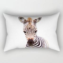 Baby Zebra, Baby Animals Art Prints by Synplus Rectangular Pillow