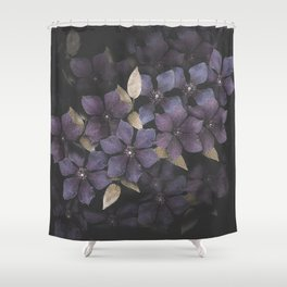 Faded Clematis in Purple Shower Curtain
