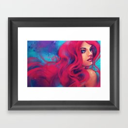 Daughter of Triton Framed Art Print