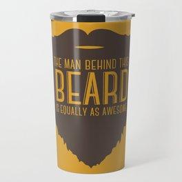 Behind the Beard Travel Mug