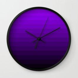 Royal Gradient Wall Clock