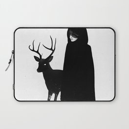 Absentia in white Laptop Sleeve