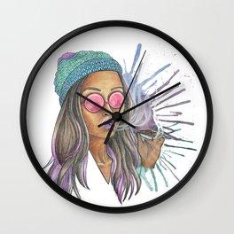 Miss Jane Wall Clock