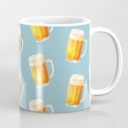 Ice Cold Beer Pattern Coffee Mug
