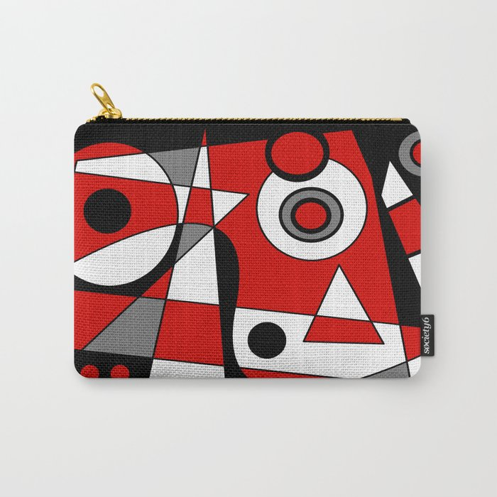 Abstract #485 Carry-All Pouch