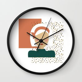 Jungle Gal Wall Clock