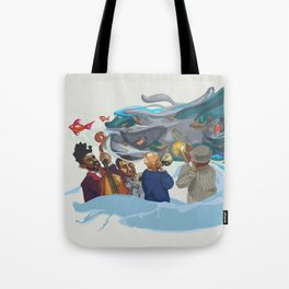 Jazz band Tote Bag