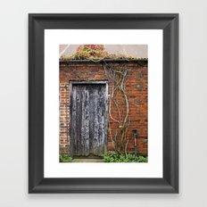 Rustic Door Framed Art Print